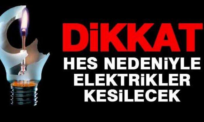 Ayancık, Türkeli ve Tüm Köylerde Elektrikler Kesilecek 20 Aralık