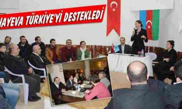 Azerbaycan Milletvekili Pashayeva Sinop'ta