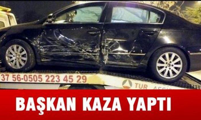 Saraydüzü Belediye Başkanı Kaza Yaptı