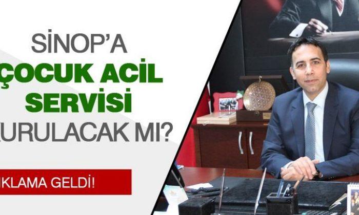 Sinop Atatürk Devlet Hastanesi Genel Sekreterinden Açıklama