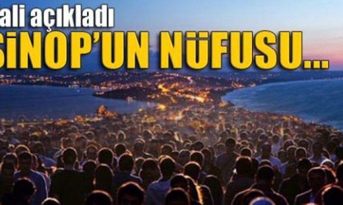 Sinop'un Nüfusu Açıklandı! Sinop'ta Kaç Kişi Var?