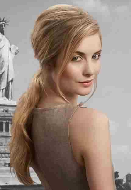Uzun saçlar için saç modeli