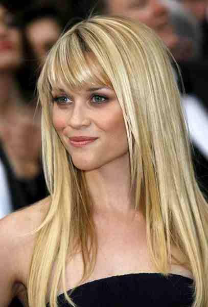 sarı renkli uzun saç modeli