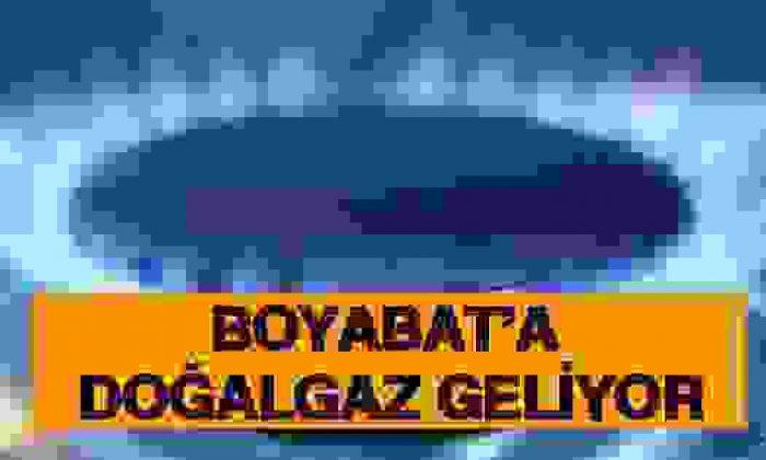 Boyabat'a Doğalgaz Geliyor