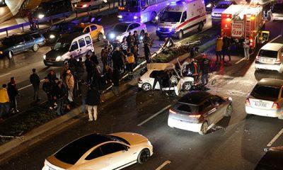 İstanbul'da Feci Kaza: 4 Yaralı