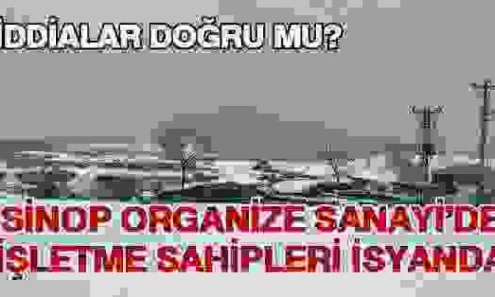 Sinop OSB'de İşyeri Sahipleri İsyanda