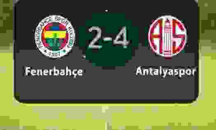 Fenerbahçe Antalyaspor Maçı Kaç Kaç Bitti – Maç Sonucu – Kim Gol Attı