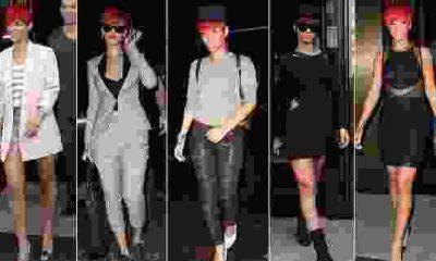 Rihanna Sokak Stili Moda Oldu