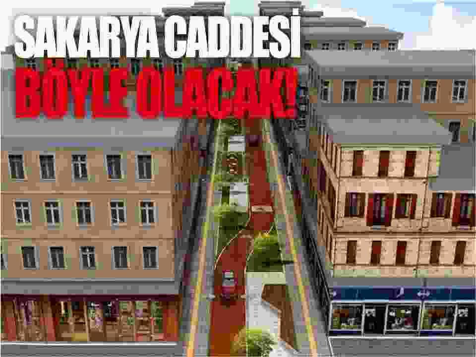 Sinop Sakarya caddesi yeni proje