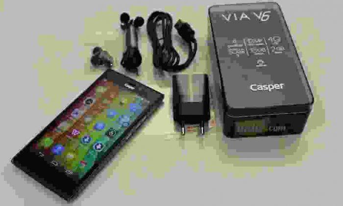 Yeni Casper Via V6 Detaylı İnceleme – Via V6 Özellikleri ve Ucuz Fiyatı