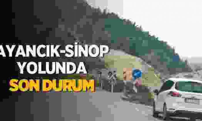 Ayancık-Sinop Karayolunda Son Durum