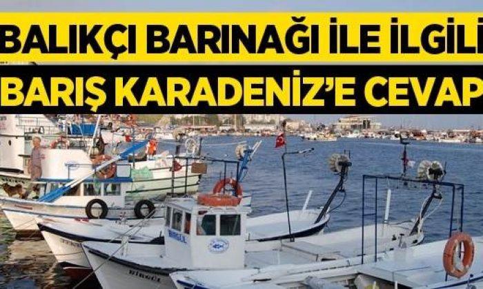 Sinop Balıkçı Barınağı Sorunlarıyla İlgili Açıklama