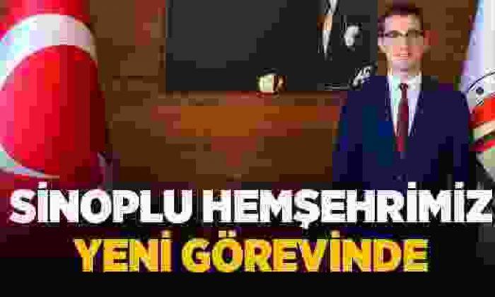 Sinoplu Yusuf Kaptanoğlu Yeni Görevine Başladı