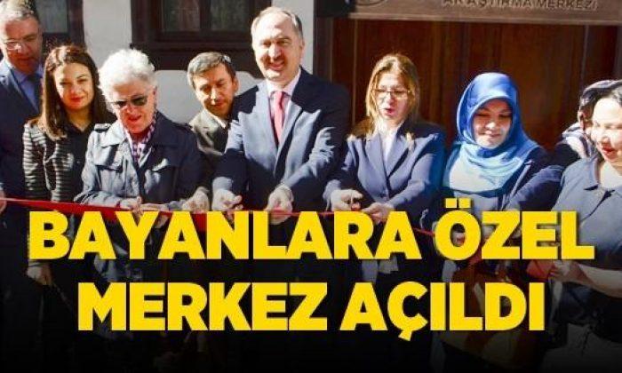 Sinop'ta Kadınlara Özel Merkez Açıldı