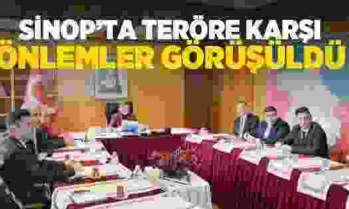 Terör Saldırılarına Karşı Sinop'ta Önlemler Alınıyor