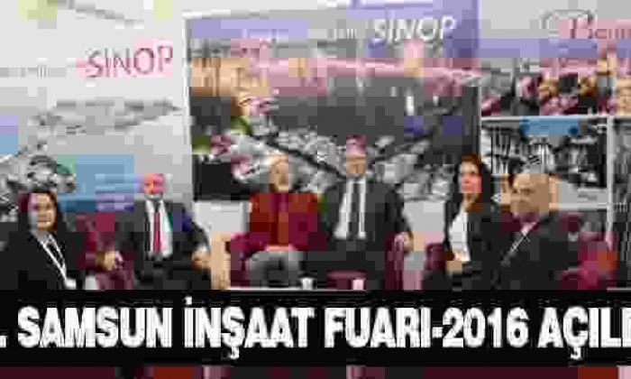 '2. Samsun İnşaat Fuarı-2016' açıldı