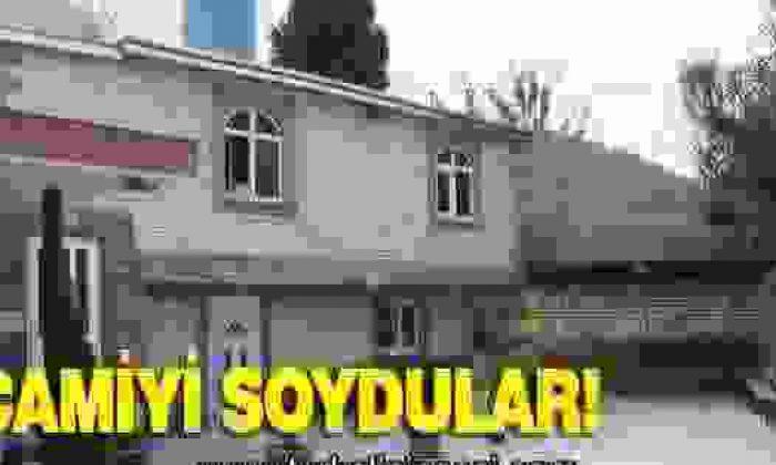 Türkeli'de Camiyi Soydular!