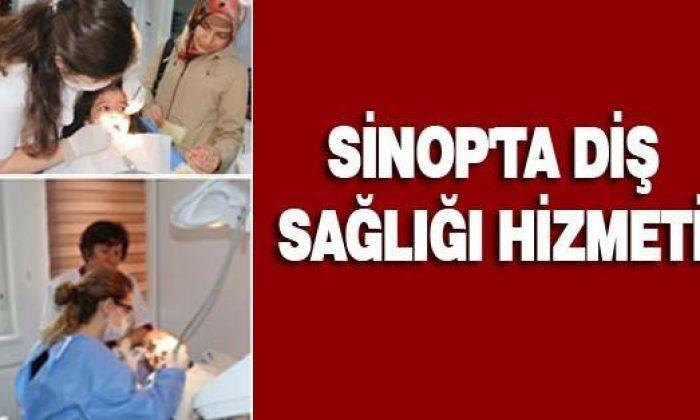 Sinop'ta Diş Sağlığı Hizmeti