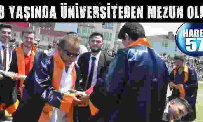 48 Yaşında Üniversiteden Mezun Oldu