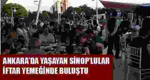 Ankarada yaşayan sinoplular