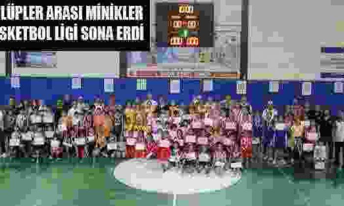 Kulüpler Arası Minikler Basketbol Ligi Sona Erdi