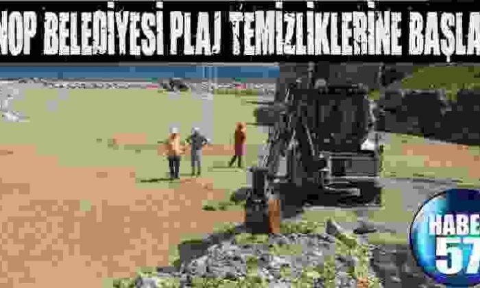 Sinop Belediyesi Plaj Temizliklerine Başladı