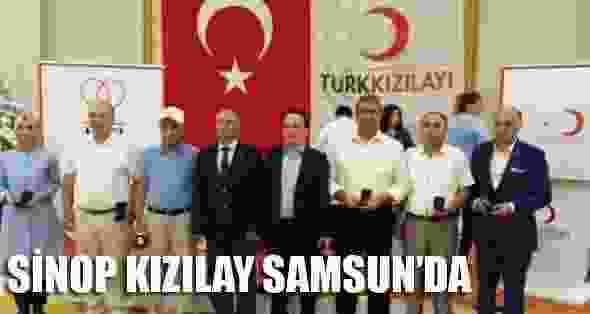 Sinop Kızılay Samsunda