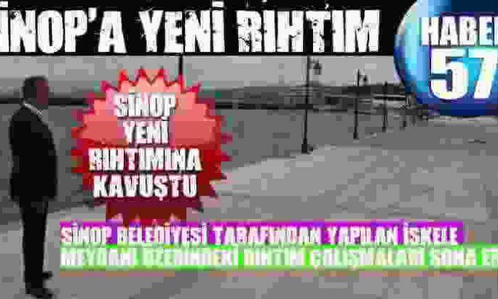 Sinop'A Yeni Rıhtım