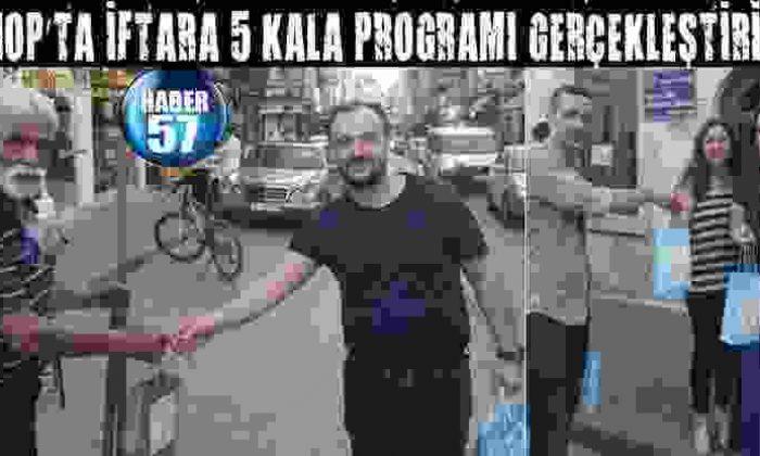 Sinop'Ta İftara 5 Kala Programı Gerçekleşti