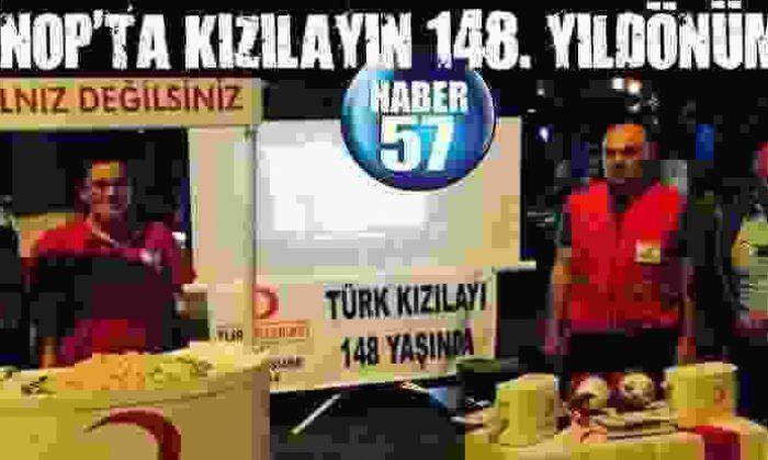 Sinop'Ta Kızılayın 148. Yıldönümü
