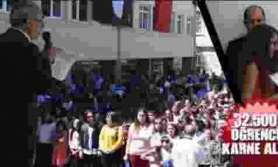 32 Bin Öğrenci Sinop'ta Karne Aldı