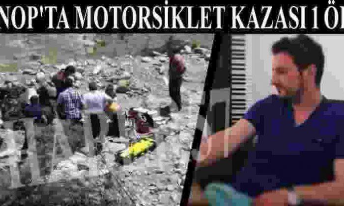 Sinop'ta Motorsiklet Kazası 1 Ölü