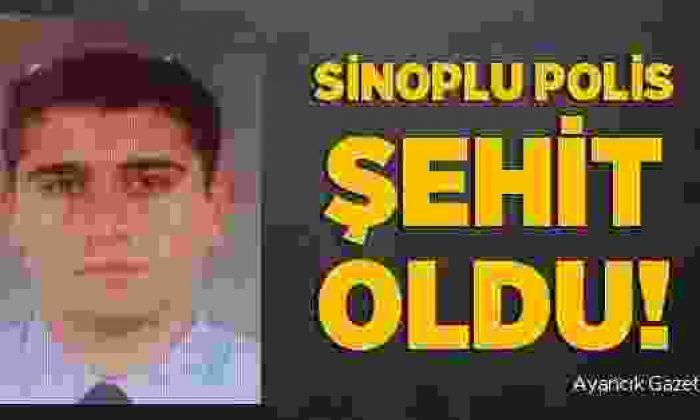 Şırnak'ta Sinoplu Polis Şehit Düştü