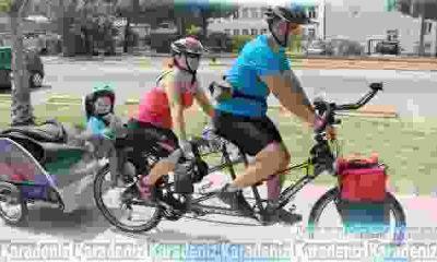 1000 km bisikletleriyle yol gidecekler
