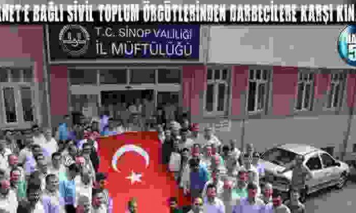 Diyanet'E Bağlı Sivil Toplum Örgütlerinden Darbecilere Karşı Kınama