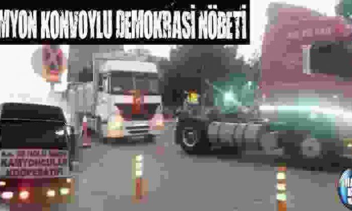 Kamyon Konvoylu Demokrasi Nöbeti