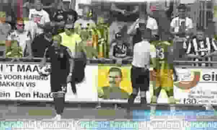 Karabükspor maçında şok poster!