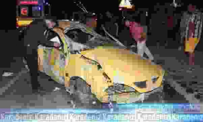 Otomobil takla attı: 1 Ölü!