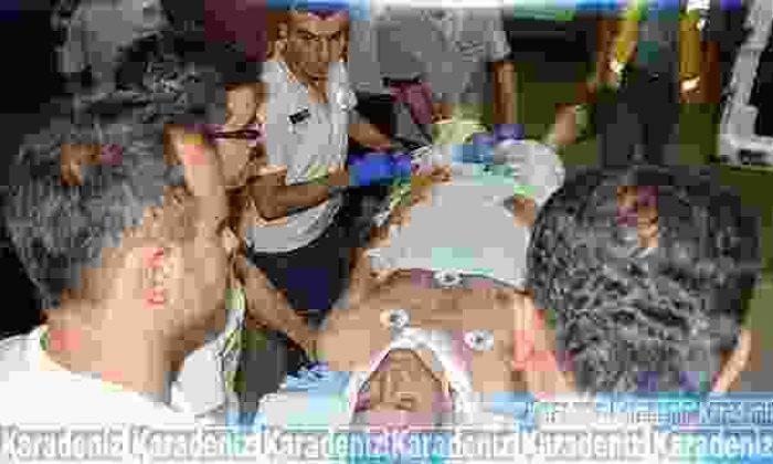 Polis memuruna sopalı saldırı!