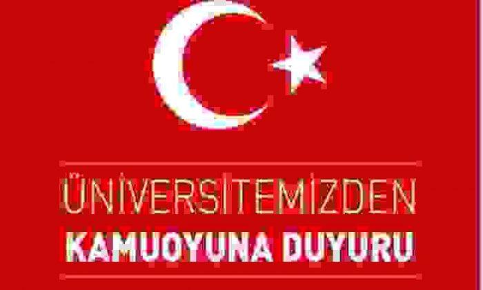 Sinop Üniversitesi'nden Kamuoyuna Duyuru