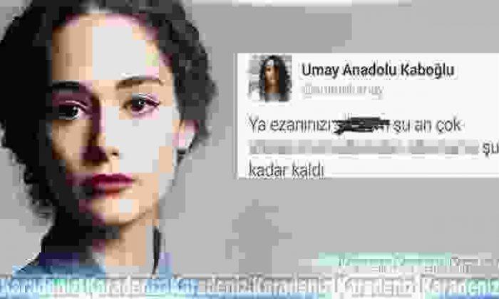 Umay Anadolu Kaboğlu ezana küfretti