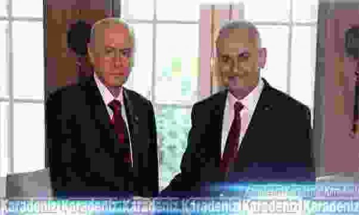 Başbakan Bahçeli'yi davet etti