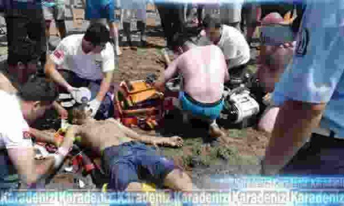 Boğulmak üzere olan genci kurtarırken boğuldu!