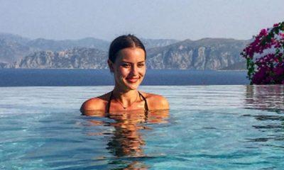 Fahriye Evcen tatile doymuyor! Önce İtalya, sonra Türkiye!