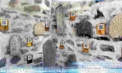Mezar Taşları okunabilir halde