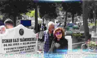 Osman Yağmurdereli mezarı başında anıldı!