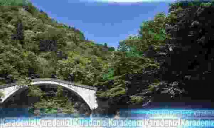 Rize'de tarihi köprüler restore ediliyor