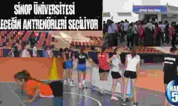 Sinop Üniversitesi Geleceğin Antrenörleri Seçiliyor