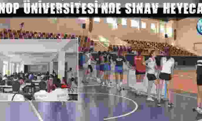 Sinop Üniversitesi'Nde Sınav Heyecanı