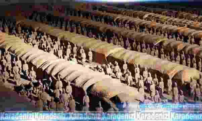 Terrakotta askerleri ABD'de